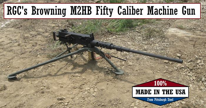"Browning .50 Caliber M2 Heavy Barrel ""Ma Deuce"" Replica"