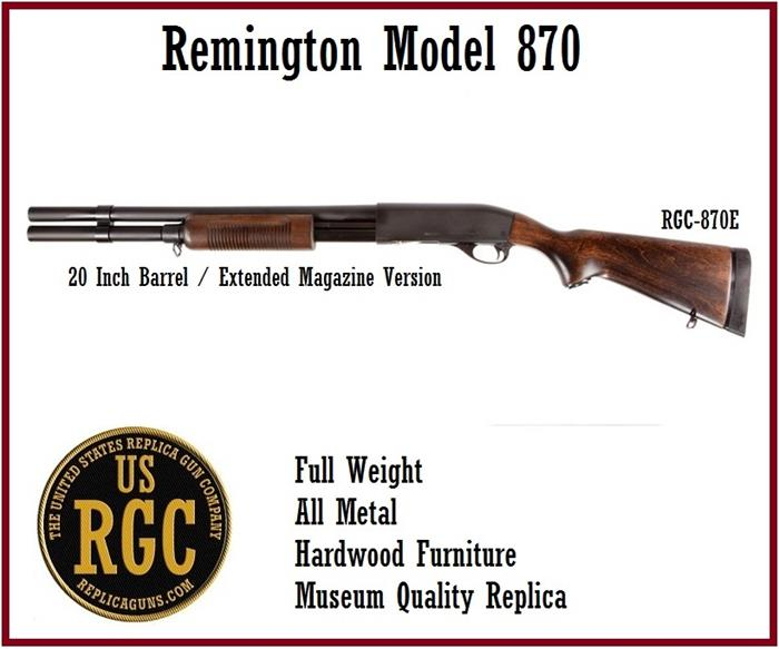 Remington Model 870 Shotgun: Extended Magazine Version