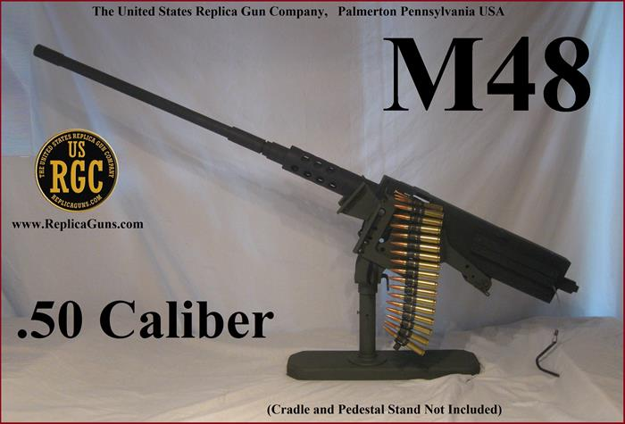 Browning .50 Caliber M48HB (Turret Mount M2) Replica