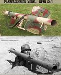 WWII Axis: RPzB 54 Panzerschreck with Shield  (Normandy Camo)