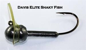 ELITE SHAKY FISH 2/Pkg, 3/16 OZ