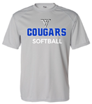 VHHS Softball 2020 - Short sleeve drifit (Badger) VH Logo