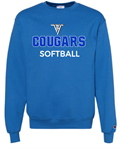 VHHS Softball 2020 - Crewneck (Champion) VH Logo