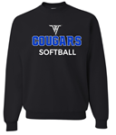 VHHS Softball 2020 - Crewneck VH Logo