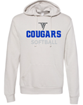 VHHS Softball 2020 - Hoodie (lightweight washed) VH Logo