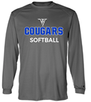 VHHS Softball 2020 - Long sleeve drifit (Badger) VH Logo