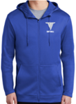 VHHS Softball 2020 - Hoodie (Nike thermal full-zip) Embroidered Logo