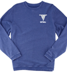 VHHS Softball 2020 - Crewneck Boxercraft pullover Embroidered Logo