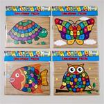 Educational Wood-Look Puzzle - Alphabet Case Pack 48