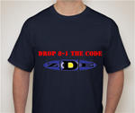 Drop 8-1 The Code T-Shirt Black