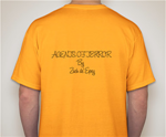 Agents of Terror-T-Shirt Yellow
