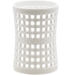 White Large Italian Tension Rollers 47mm (6 in pack)