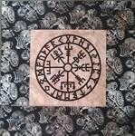 Kit: Vegvisir Laser cut and exclusive shield maiden fabric