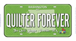 Quilter Forever Licence Plate 2017