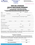 2. Men On A Mission Group Mentoring Program