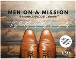 00a. Men On A Mission 16-Month Calendar - KINGDOM MEN WALKING STRATEGICALLY