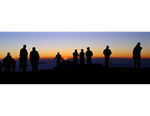 Mauna Kea Sunset - float mount