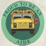 Proud To Be A School Bus Aide Pin