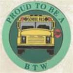 Proud To Be A School Bus BTW  Pin