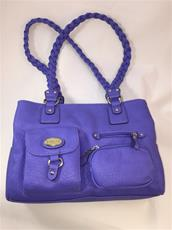 A Braided strap handbag from Rosetti