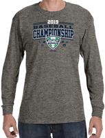 2019 Official Baseball Champions Event Adult Long Sleeve Tee