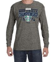 2019 Official Softball Champions Event Adult Long Sleeve Tee