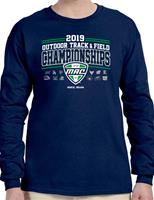 2019 Official Outdoor Track & Field Champions Event Adult Long Sleeve Tee