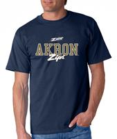 Akron Campus Script Adult Tee