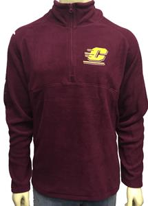 Central Michigan Polar Fleece 1/4 Zip pullover