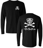 Official MAC Jolly Roger Logo Adult Longsleeve Tee