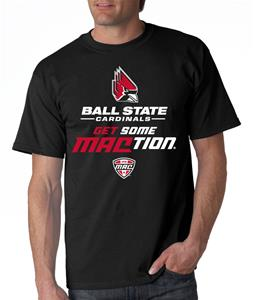 Ball State Get Some MACtion Adult Tee