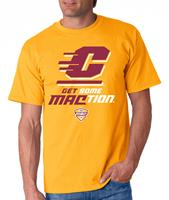 Central Michigan Get Some MACtion Adult Tee