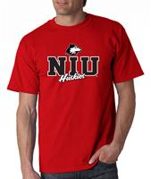 Northern Illinois Campus Script Adult Tee