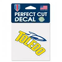 TOLEDO UNIVERSITY PERFECT CUT DECAL