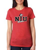NIU Women's Crew neck Tee