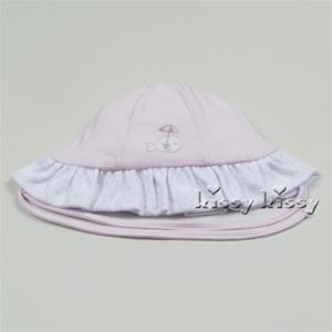 Kissy Kissy Whales Sunhat Pink