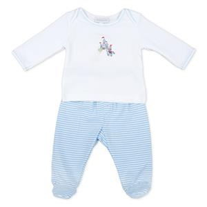Magnolia Baby Happily Ever After Prince 2pc Footie