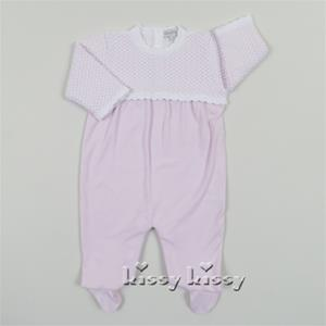 Kissy Kissy Traditions Footie Pink
