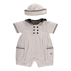 Emile Et Rose Sailor Romper