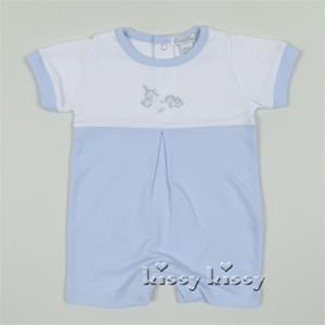 Kissy Kissy Bunches Of Bunnies Playsuit Blue