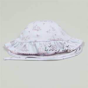 Kissy Kissy Bunches Of Bunnies Sunhat Pink