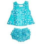 Masala Baby India Rose Set Turquoise