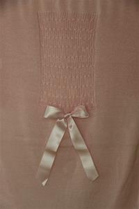 Antonella Rose Pink Blanket with Bow