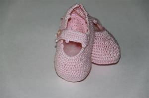 Antonella Rose Pink Mary Jane Booties