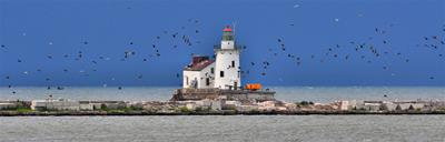 Cleveland Lighthouse Panoramic