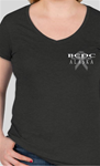 a) Black Frost - Ladies V-Neck  (Shipping Included)