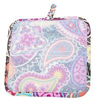 Paisley Medallion Silli Hottie (Silicone Pot Holder/Hot Pad)