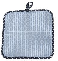 Pinstripe Silli Hottie (Silicone Pot Holder/Hot Pad)