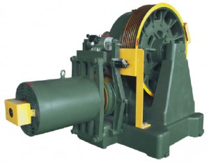 YJ360 Geared Traction Machine