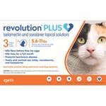 Revolution Plus Cat 5.6 - 11lbs (3 month supply)